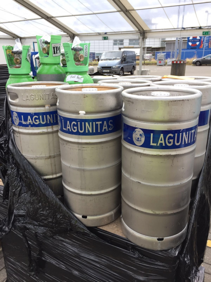 Lagunitas supplies