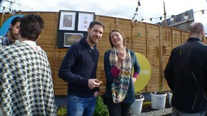 Emma and Cathal from Rascals Brewing Co.